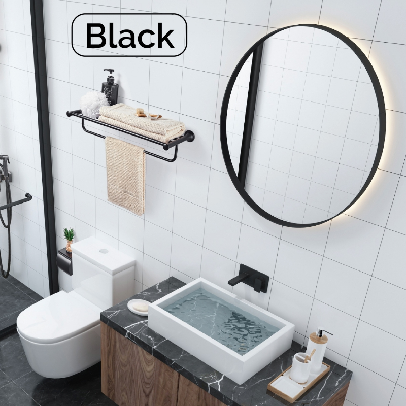 Trending Now–Black Taps,Sanitaryware and Black Accessories.