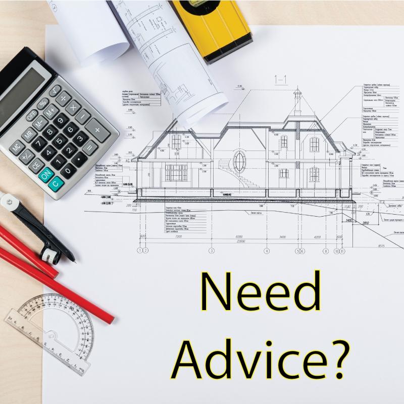 Need Advice? -  We want to help!