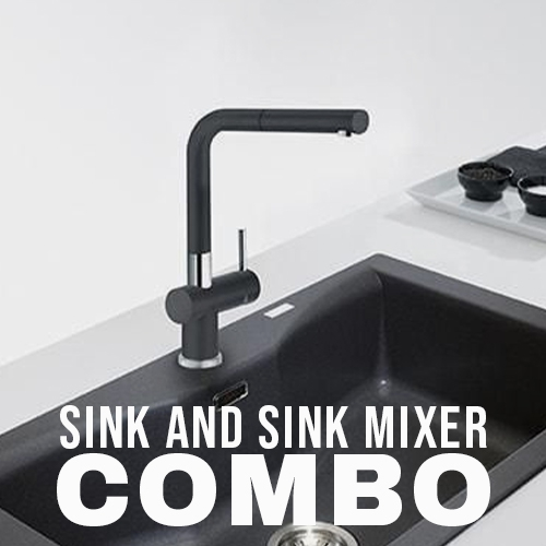 Sink And Sink Mixer Combo