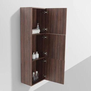 Ava Side Cabinet 1500 x 300 x 450mm Walnut