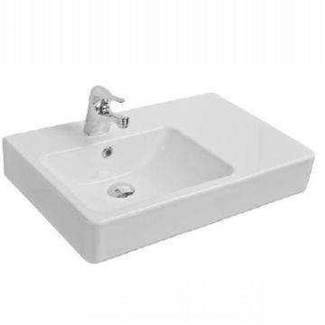 Essence Countertop Basin 650 x 425 x 110mm White