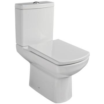 NERO Close Couple Suite incl Duroplast Soft Close Seat 355x630x785mm White