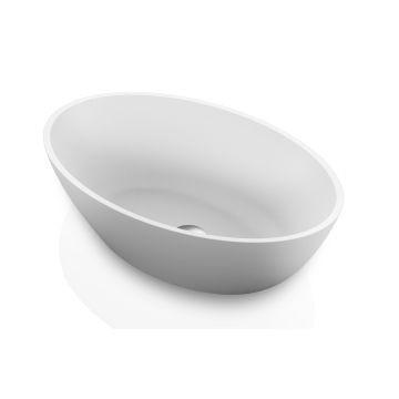 London Countertop Basin 550x350x125mm Pearl White