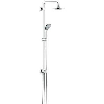 Grohe Eurodisc 180 Shower System with Diverter Chrome