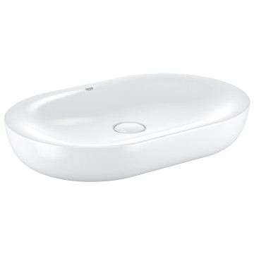 Grohe Essence Ceramic Vessel Countertop Basin without Overflow 600x400mm White
