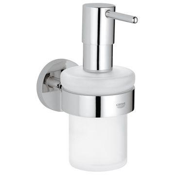 Grohe Essentials Soap Dispenser with Holder Chrome