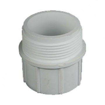 Adaptor PVC 50mm x 1 1/4 Male