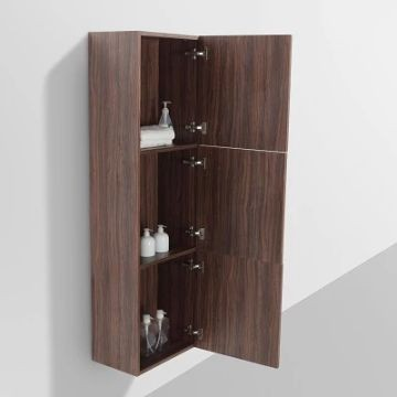 ava side cabinet 1500 x 300 x 450mm walnut plumb it With ava bathroom furniture