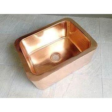 Butler Sink Single 625x475mm Copper