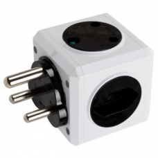Selectrix Multi-Cube with Usb Black & White