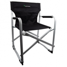 Kaufmann Director Chair Aluminium Black