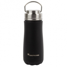 Kaufmann Traveler Flask 470ml Stainless Steel Black