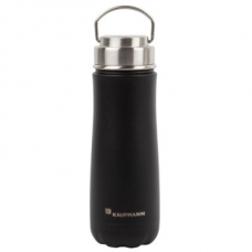Kaufmann Traveler Flask 590ml Stainless Steel Black