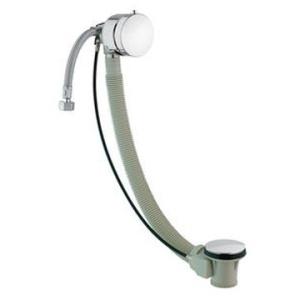 BagnoDesign Bath Filler with Pop-Up Waste 900 Matt Black - BagnoDesign