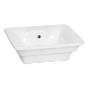 Quattro Drop-In Basin 530x450mm White