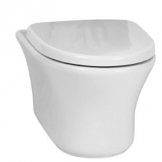 Diplomat Wall-Hung Closed-Rim Pan Only for the Concealed Cistern 420x370x565mm White