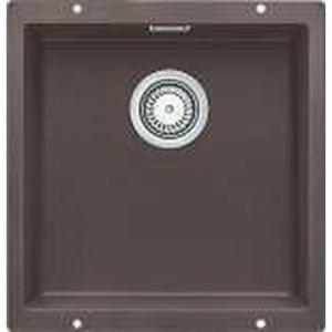 Blancosubline Sink Underslung SB w/ Waste & Overflow 460x430x190mm Coffee