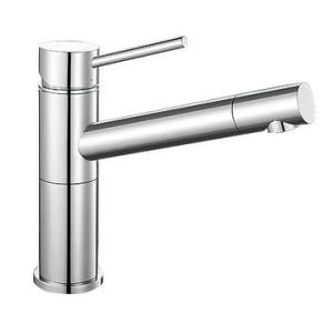 Alta Compact Sink Mixer Single Lever Pillar-Mounted Chrome