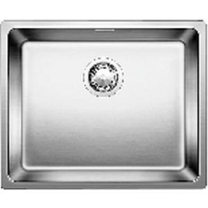 Andano 500-IF Sink Drop-In w/ Waste & Plumbing Kit 540x440x190mm SS Satin Polish