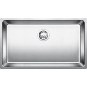 Andano 700-U Sink Underslung SB w/ Waste & Plumbing Kit 740x440x190mm SS