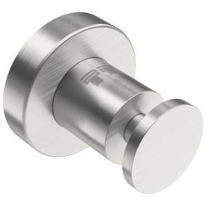 4600 Single Robe Hook Brushed Stainless Steel - Bathroom Butler
