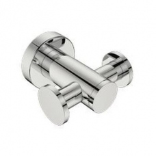 4600 Double Robe Hook Polished Stainless Steel - Bathroom Butler