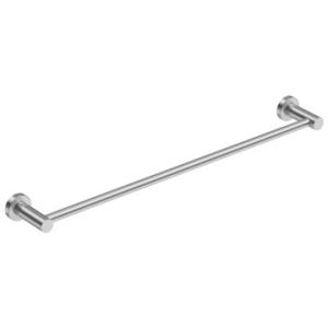 4600 Single Towel Rail 650mm Brushed Stainless Steel - Bathroom Butler