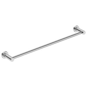 4600 Single Towel Rail 650mm Polished S/Steel - Bathroom Butler