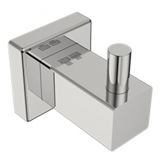 8500 Single Robe Hook Polished Stainless Steel - Bathroom Butler