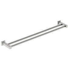 8500 800mm Double Towel Rail Polished S/Steel - Bathroom Butler