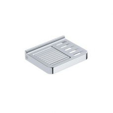 Elemental Soap Rack 150x120x30mm Chrome - Liquid Red
