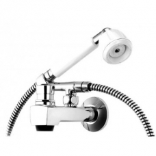 Cobra Alpine Hand Shower Attachment Chrome/White