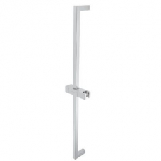 Cobra Callisto Square Shower Rail Chrome