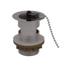 Cobra Slotted Basin Waste with Plug Chain Stay C/P