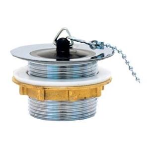 Cobra Bath Waste with Plug Chain Stay Chrome