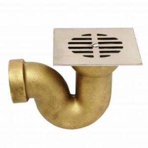 Cobra Bath P-Trap with Shallow Seal Rough Brass