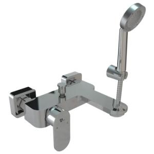 Bordo Round Bath Mixer & Hand Shower W/T Chrome