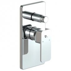 Bordo Square Diverter Concealed Mixer Chrome