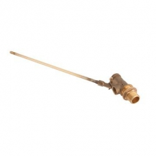 Cobra Float Valve with Side Inlet Rough Brass