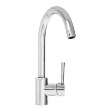 Aspire Side Lever Sink Mixer Chrome