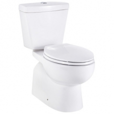 Arrive Close-Coupled Toilet Suite with Seat White