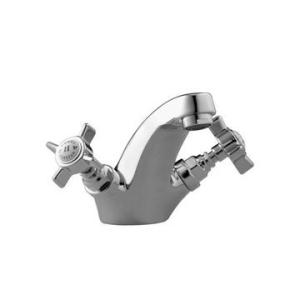 Cobra Capstan Basin Mixer Fixed Spout Chrome
