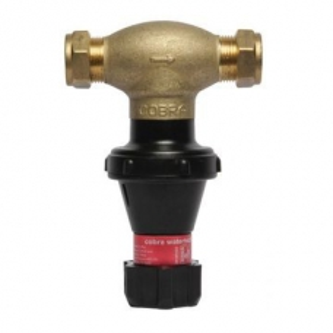 Cobra Pressure Control Valve MF2 400kPa 22mm CxC Brass
