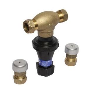 Cobra Pressure Control Valve MF2 100kPa 22mm CxC Brass