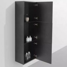 Ava Side Cabinet 1500 x 300 x 450mm Black