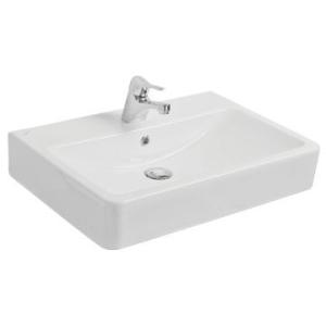 Evo Countertop Square Basin 650x450x115mm White