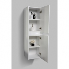 Enzo Side Cabinet Wall-Hung 350x300x1200mm Gloss White