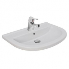 Sole Wall-Hung Basin 600x420x145mm White