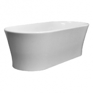 Elegance Freestanding Bath no Overflow 1800x840x590mm Gloss White