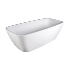 Standard Deonne Freestanding Bath 485x755x1630mm Gloss White